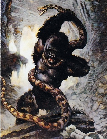 Frank Frazetta Series I - Card 10